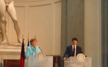 """Vertice italo-tedesco: Merkel, """"imprenditori tedeschi fiduciosi, torneranno ad assumere in Italia"""""""
