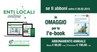 Promozione abbonamenti Entilocali-online 2015
