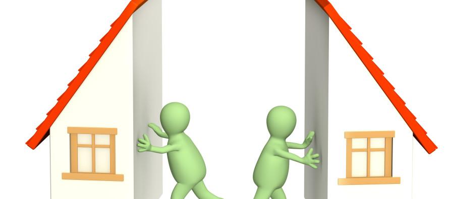 Imu: in caso di divisione di un immobile il diritto di abitazione del coniuge superstite permane su entrambe le particelle?