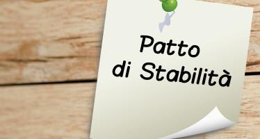 Patto di stabilità: obiettivi programmatici e chiarimenti su novità normative