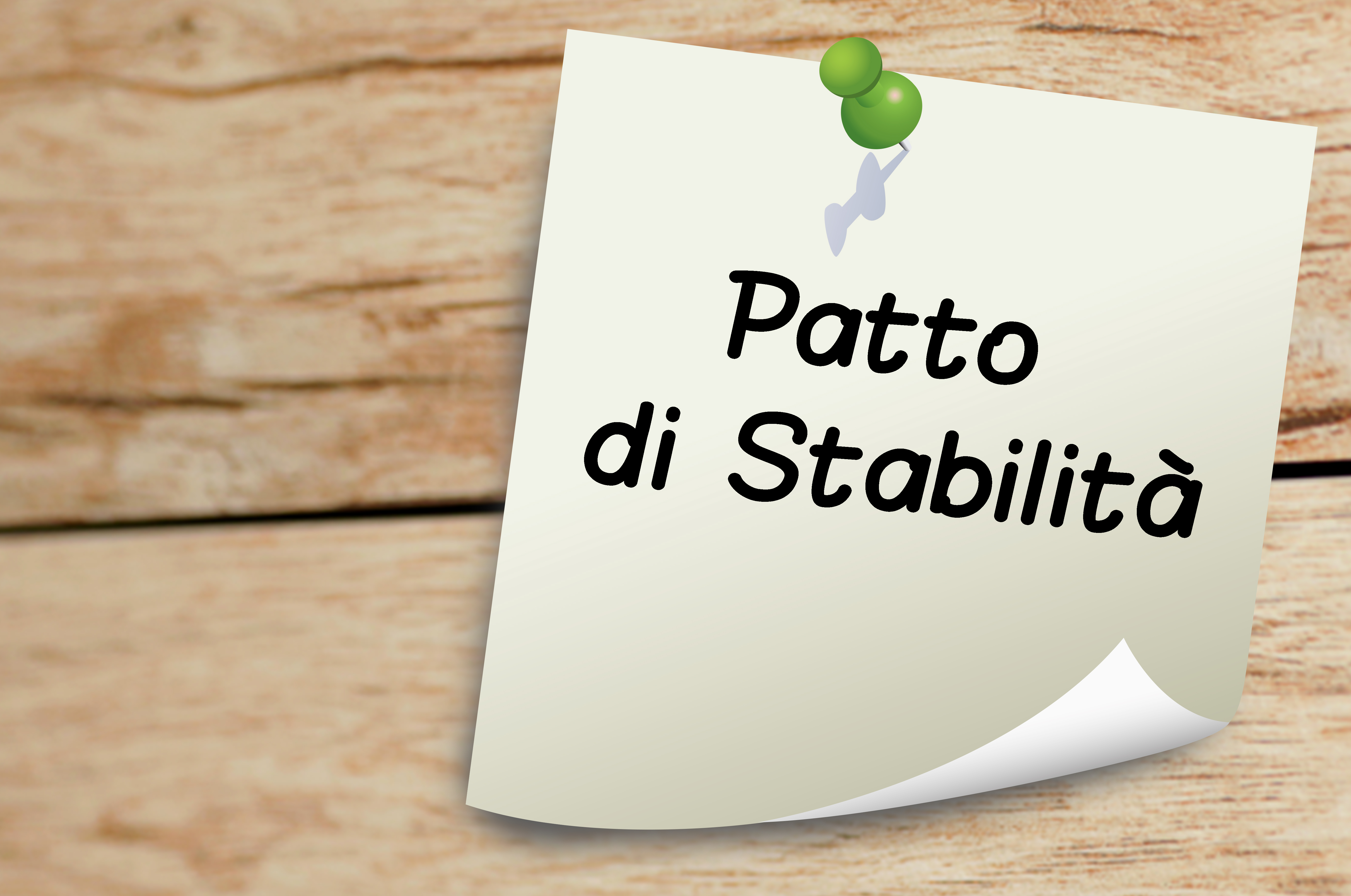 Patto Di Stabilit U00e0  Obiettivi Programmatici E Chiarimenti Su Novit U00e0 Normative