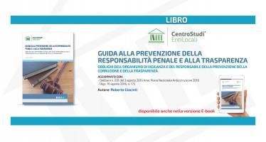 """Novità editoriale – """"Guida alla prevenzione della responsabilità penale e alla trasparenza"""""""