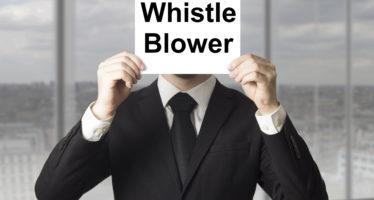 """""""Whistleblowing"""": inviate all'Anac 607 segnalazioni telematiche in un anno, oltre 130 quelle inoltrate alle Procure o alla Corte dei conti"""