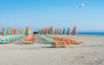 Tarsu: superficie della spiaggia dello stabilimento balneare