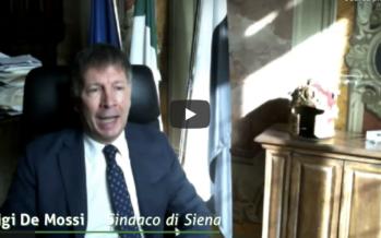 """Sindaco di Siena, De Mossi su Pnrr: """"No all'elemosina di Stato, soldi occasione solo se ci sono concreti progetti di sviluppo"""""""
