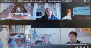 """""""Recovery Fund"""" e territori: le regole di ingaggio per i Comuni al centro del primo Tavolo tecnico del Progetto """"Next Generation EU–EuroPA Comune"""""""
