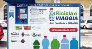 Mobilità, Amt a Catania lancia l'iniziativa 'ricicla e viaggia'