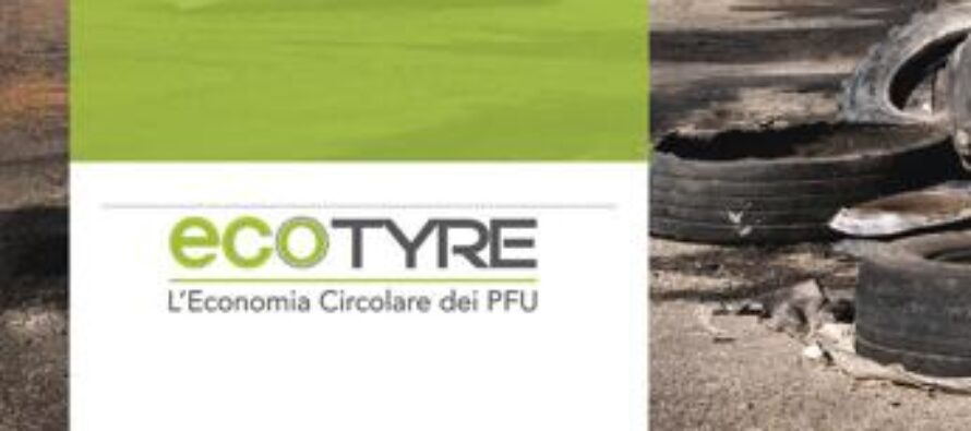 EcoTyre, in 10 anni recuperati 405 mln di kg di pneumatici fuori uso