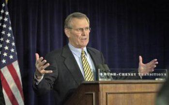 E' morto Donald Rumsfeld, ex segretario Difesa Usa aveva 88 anni
