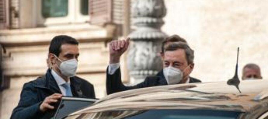 """Governo, Draghi ai ministri: """"Abbiamo lavorato bene"""""""