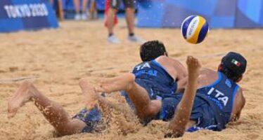 Tokyo 2020, Lupo-Nicolai fuori ai quarti nel beach volley