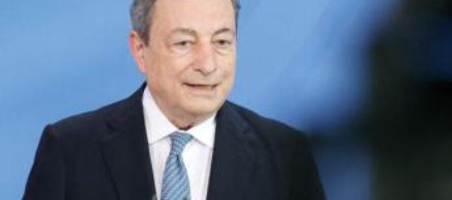 """Vaccino covid, Draghi: """"Italia donerà 45 mln dosi a Paesi poveri entro 2021"""""""