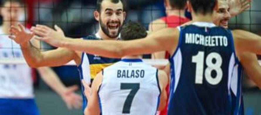 Europei pallavolo, Italia in finale