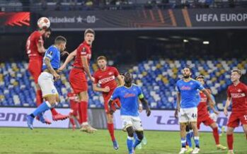 Europa League, Napoli-Spartak Mosca 2-3