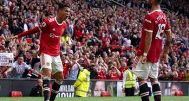 Cristiano Ronaldo subito in gol con il Manchester United