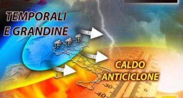 Arriva l'autunno, calo termico e temporali sull'Italia: il meteo