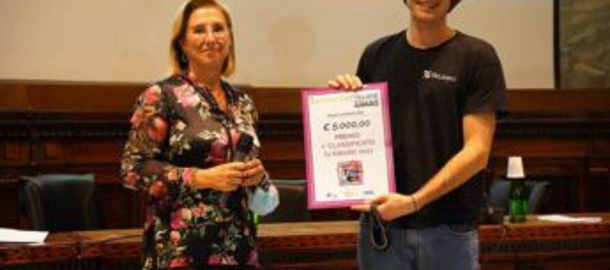 Innovation Village Award 2021: vince 'Nando' il cestino intelligente