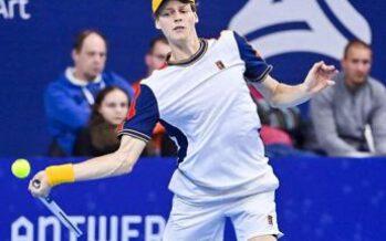 Sinner vince Atp Anversa, quarto titolo dell'anno